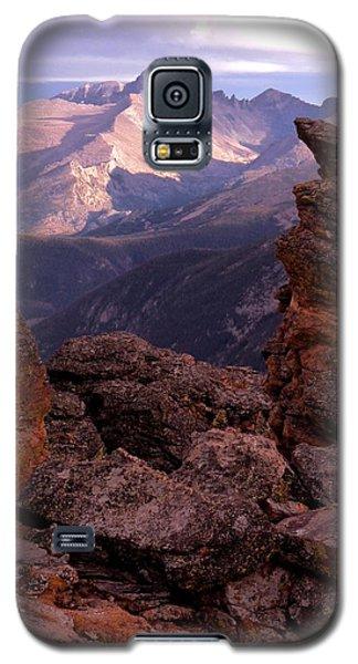 Longs Peak From Rock Cut  Galaxy S5 Case