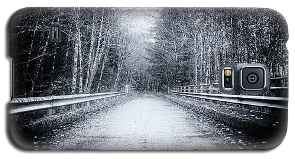 Galaxy S5 Case featuring the photograph Lonliness Highway by Spencer McDonald