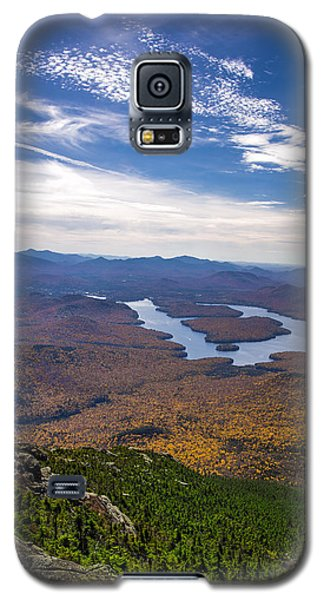 Lookin Down On Lake Placid Galaxy S5 Case by Mark Papke