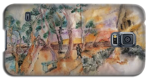 Looking At Van Gogh Album Galaxy S5 Case