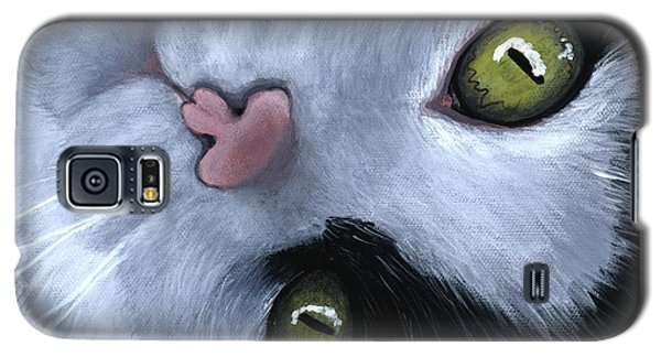 Galaxy S5 Case featuring the painting Looking At You by Anastasiya Malakhova