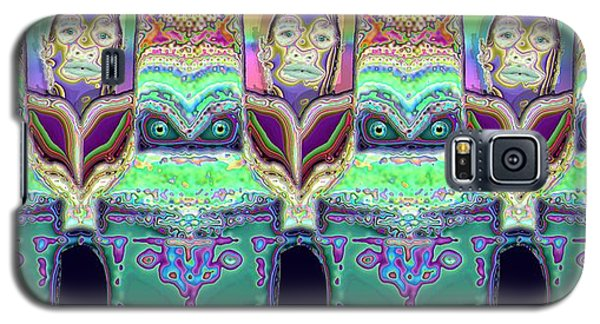 Galaxy S5 Case featuring the digital art Looking At You by Ron Bissett