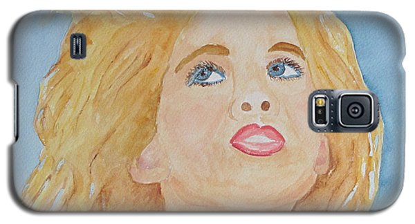 Galaxy S5 Case featuring the painting Looking Back by Sandy McIntire