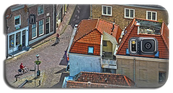 Looking Down From The Church Tower In Brielle Galaxy S5 Case