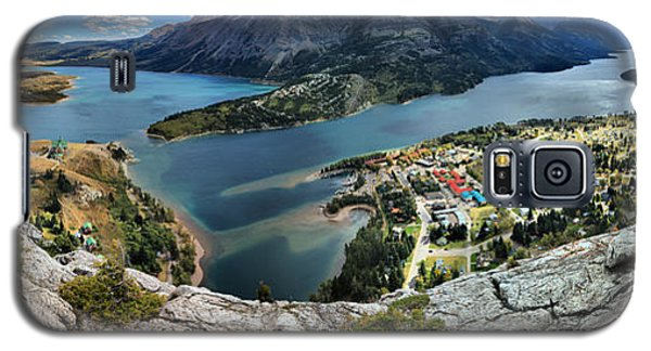 Looking Down On Waterton Lakes Galaxy S5 Case