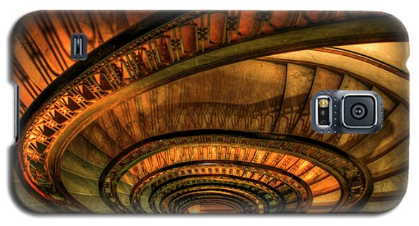 Looking Down The Ponce Stairs Opened In 1913 Galaxy S5 Case by Reid Callaway
