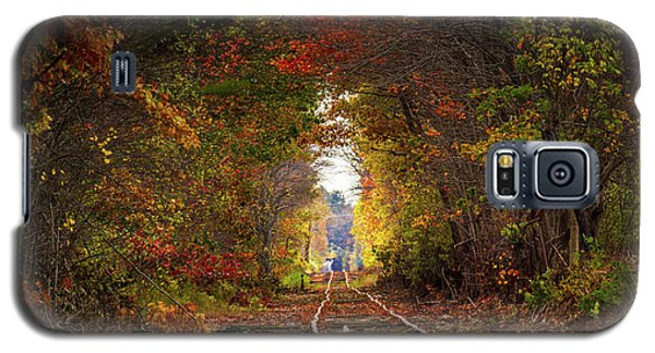 Looking Down The Tracks Galaxy S5 Case