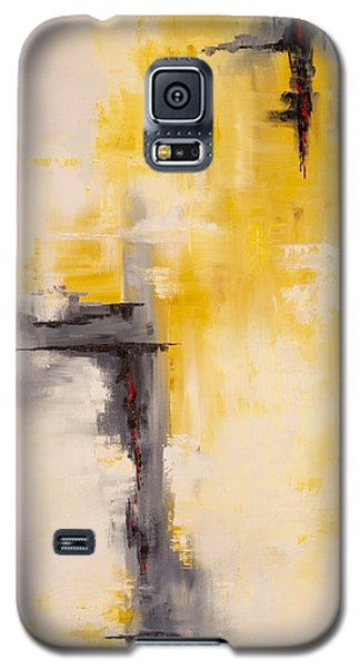 Galaxy S5 Case featuring the painting Looking East #1 by Suzzanna Frank