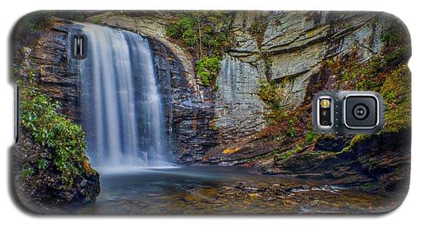 Looking Glass Falls In The Blue Ridge Mountains Brevard North Carolina Galaxy S5 Case