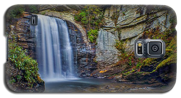 Looking Glass Falls In The Blue Ridge Mountains Brevard North Carolina Galaxy S5 Case