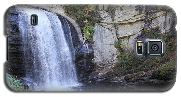 Looking Glass Falls Side View Galaxy S5 Case