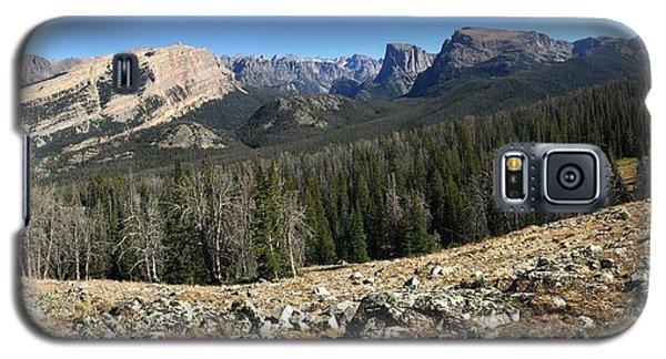 Looking Into The Bridger Wild Lands Galaxy S5 Case