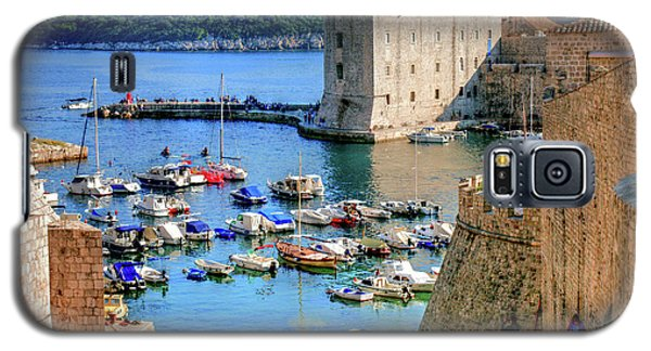 Looking Out Onto Dubrovnik Harbour Galaxy S5 Case