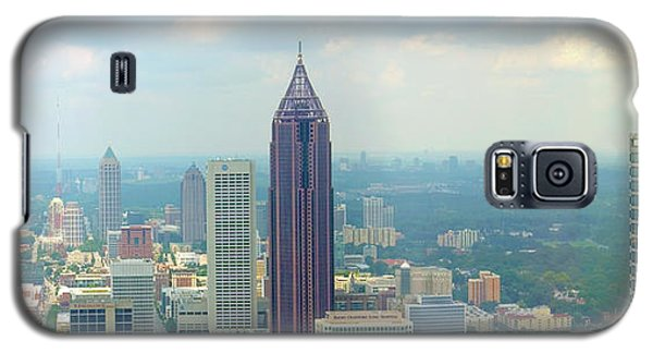 Galaxy S5 Case featuring the photograph Looking Out Over Atlanta by Mike McGlothlen