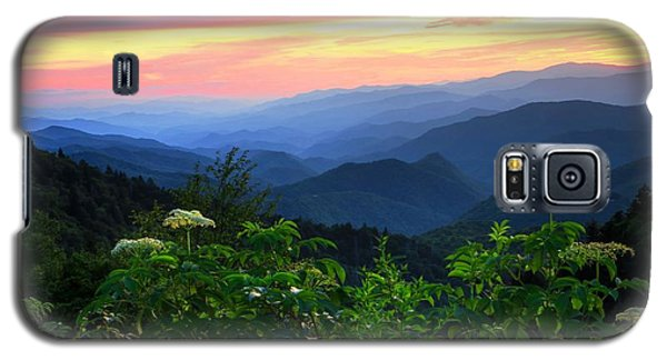 Looking Out Over Woolyback On The Blue Ridge Parkway  Galaxy S5 Case