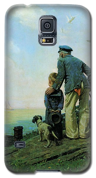 Looking Out To Sea Galaxy S5 Case