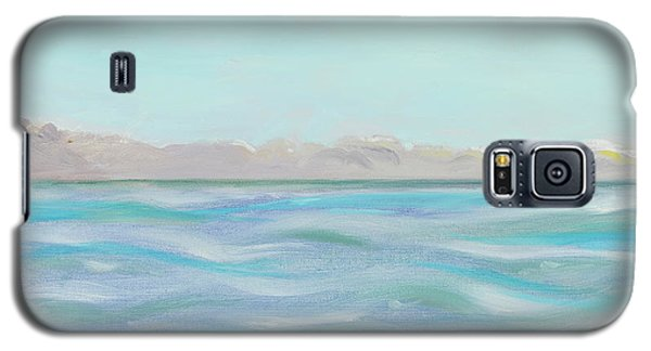 Looking South Tryptic Part 1 Galaxy S5 Case