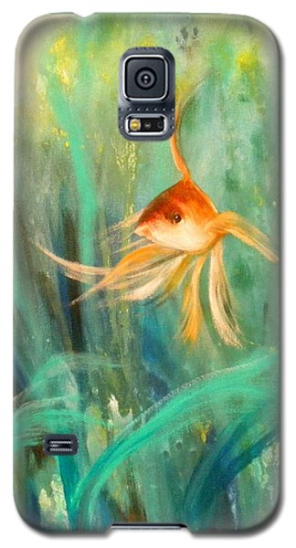 Looking - Square Painting Galaxy S5 Case