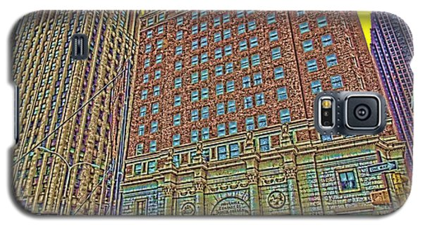 Looking Up In Love Park Galaxy S5 Case