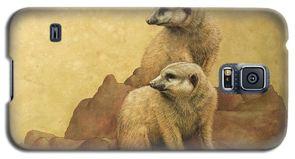 Meerkat Galaxy S5 Case - Lookouts by James W Johnson