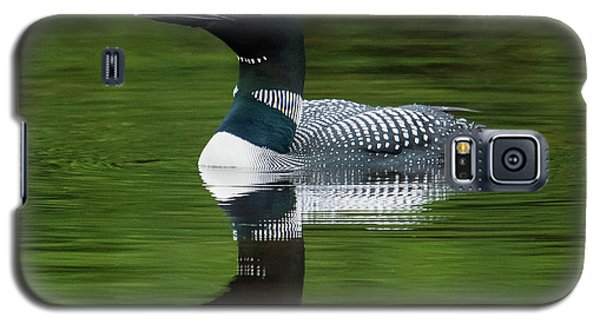 Loon Reflections On The Lake Galaxy S5 Case