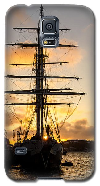 Lord Nelson Sunrise Galaxy S5 Case by Jeff at JSJ Photography