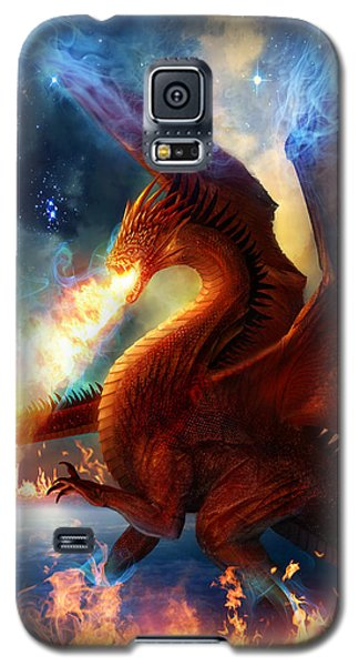 Magician Galaxy S5 Case - Lord Of The Celestial Dragons by Philip Straub
