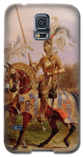 Lord Of The Tournament Galaxy S5 Case by Edward Henry Corbould