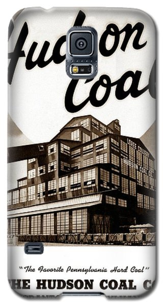 Loree Colliery Larksville Pa. Hudson Coal Co  Galaxy S5 Case