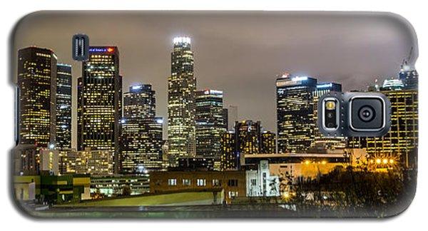 Los Angeles At Night Galaxy S5 Case by April Reppucci