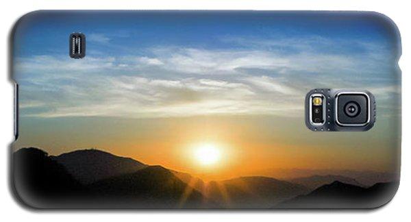Los Angeles Desert Mountain Sunset Galaxy S5 Case