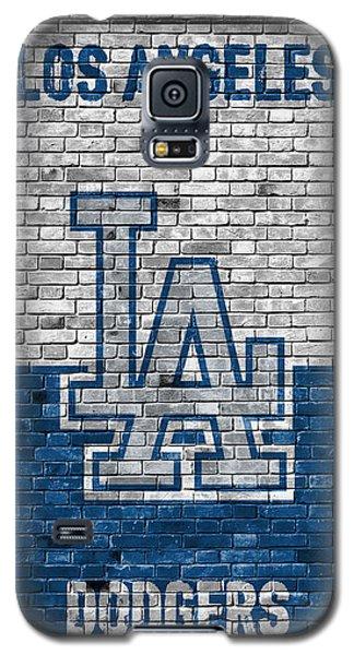 Los Angeles Dodgers Brick Wall Galaxy S5 Case