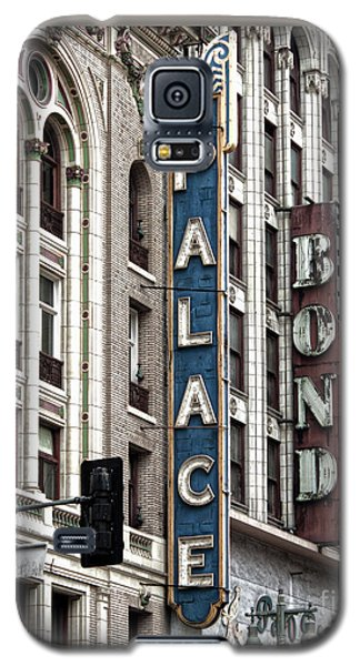Los Angeles Downtown On Broadway Galaxy S5 Case
