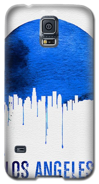Los Angeles Skyline Blue Galaxy S5 Case