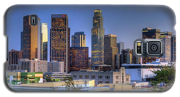 Los Angeles Skyline Galaxy S5 Case by Eddie Yerkish