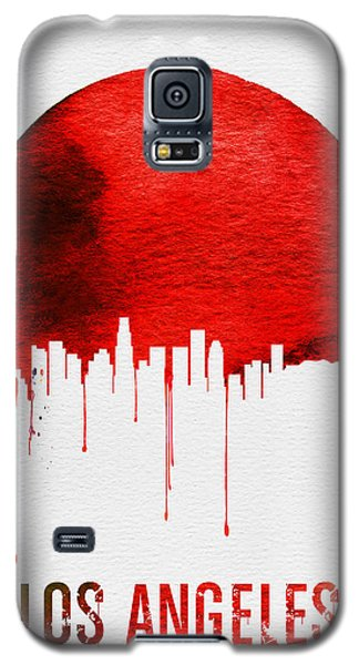 Los Angeles Skyline Red Galaxy S5 Case