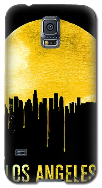Los Angeles Skyline Yellow Galaxy S5 Case