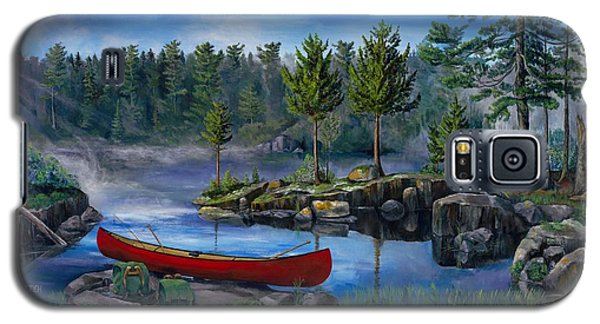 Lost In The Boundary Waters Galaxy S5 Case