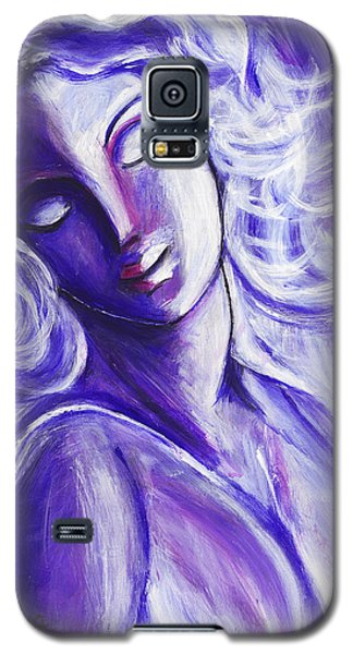 Galaxy S5 Case featuring the painting Lost In Thought by Anya Heller