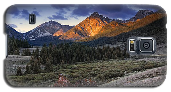 Lost River Mountains Moon Galaxy S5 Case