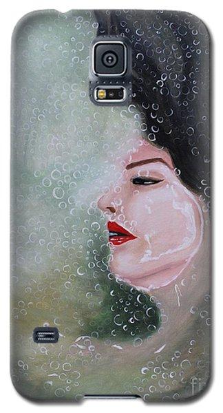 Galaxy S5 Case featuring the painting Lost  by Saranya Haridasan
