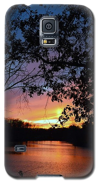 Lost Sunset Galaxy S5 Case by J R Seymour