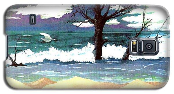 Lost Swan Galaxy S5 Case by Patricia Griffin Brett