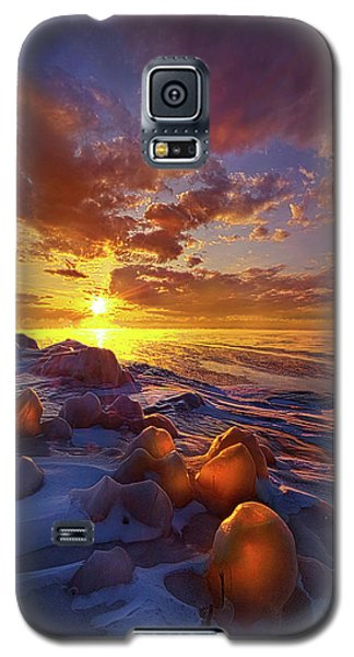 Galaxy S5 Case featuring the photograph Lost Titles, Forgotten Rhymes by Phil Koch