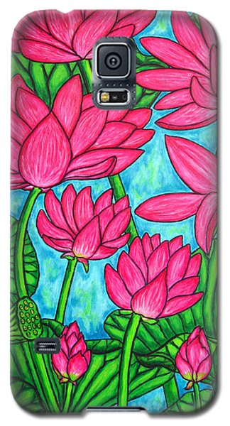 Lotus Bliss Galaxy S5 Case