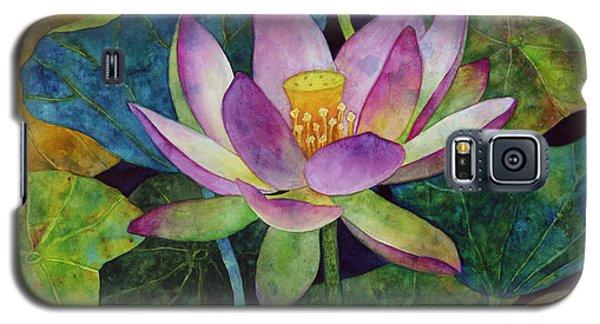 Lotus Bloom Galaxy S5 Case by Hailey E Herrera