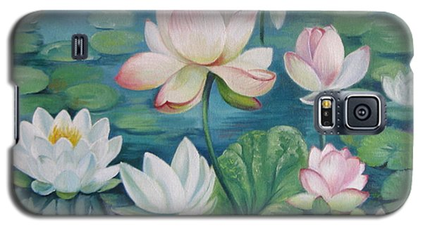 Lotus Flowers Galaxy S5 Case by Elena Oleniuc