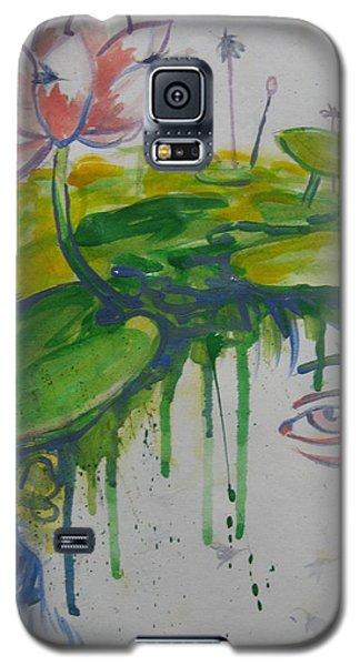 Lotus Head Galaxy S5 Case