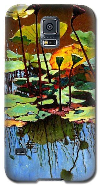 Lotus In July Galaxy S5 Case by John Lautermilch