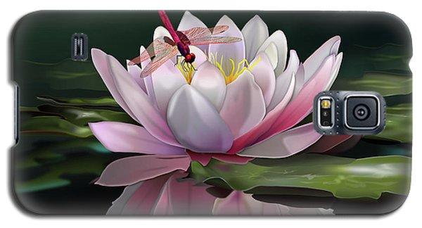 Lotus Meditation Galaxy S5 Case by Rosa Cobos
